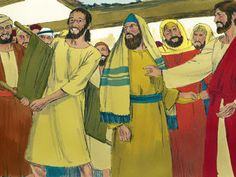 Immediately the man stood up, picked up the mat he had been brought on and went home praising God. – Slide 9