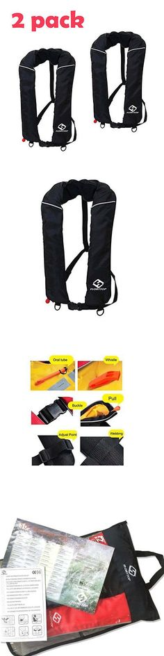 Life Jackets and Preservers 15262: 2Pack Floattop Adult Automatic Inflatable Life Vest Pfd Survival Sailing Fishing -> BUY IT NOW ONLY: $118.99 on eBay!