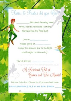 Free-Peter-Pan-andTinkerbell-Invite-Template copy