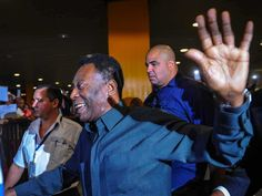 Football Legend Pele Arrives in Kolkata, India After 38 Years
