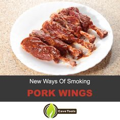 New Way Of Smoking Wings – Pork Wings Recipe - Grill Master University Smoker Recipes, Grilling Recipes, Pork Recipes, Cooking Recipes, Pig Wings Recipe, Bbq Grill, Barbecue Sauce, Smoked Wings, Cooking