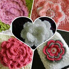 sunshine and a sewing basket: Layla-Lu beanie Crochet Baby Cap, Crochet Preemie Hats, Crochet Baby Jacket, Easy Crochet Hat, Crochet Baby Hat Patterns, Crochet Flower Tutorial, Crochet Beanie Pattern, Baby Hats Knitting, Crochet Baby Shoes