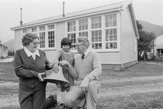the original WAINUIOMATA School Bell - 23 June 1982 with principal Norman Wright .. OWR 1 Oct 2014 Norman, June, Couple Photos, The Originals, Couples, School, Couple Shots, Couple Photography, Couple