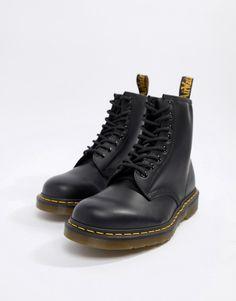 eb3725c41ad Dr Martens Original - Bottines à 8 paires d œillets - Noir 11822006