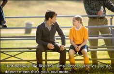 """Just because she likes the same bizzaro crap as you so doesn't mean she's your soul mate."" 500 Days of Summer"