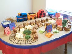 Food Ideas for Train Themed Birthday Party - BabyCenter