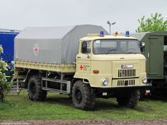 IFA -  L60 Suv Camper, Beast From The East, Oil Rig, East Germany, Heavy Truck, Emergency Vehicles, Commercial Vehicle, Classic Trucks, Ambulance