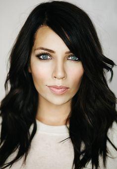 Kim K hair tutorial on maskcara.com