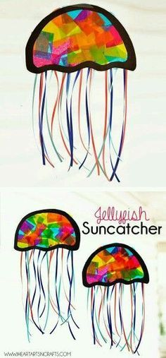Stained glass jellyfish