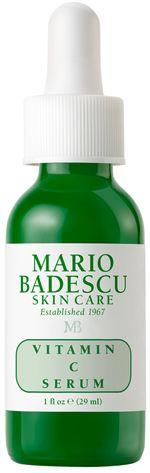 Vitamin C Serum from Mario Badescu Skin Care  http://www.marthastewart.com/1047951/marthas-skin-care-regimen