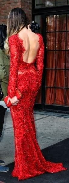 See the picz: Long Dress in Red