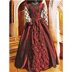 Burgundy Medieval Ball Gown - MCI-117 by Medieval Collectibles