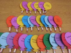 I saw this on Pinterest but couldn't find pix sticks so tweaked it a bit using Smarties. Such a wonderful idea for an end of the year gift for students! Originally from http://www.classroomfreebies.com/2013/05/end-of-year-gifts-for-students.html