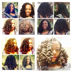Locstyle Part 2: Shirley Temple Curls #collage #locs #naturalhair #gloriaDCsFinest #globalsalon