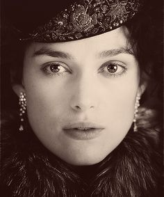"For S.: Add it to the ""Must See in 2012 Movie List""...Anna Karenina with Keira Knightley, Jude Law, and Emily Watson.  Costuming should be fabulous!"