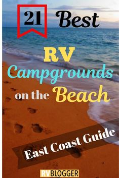 21 Best RV Campgrounds on the Beach Check out these RV oceanfront parks for RV Beach Camping! This camping on the beach travel guide features RV oceanfront and beach campgrounds! Click, Save or Send to explore the beauty of oceanfront camping Camping Am Meer, Camping Diy, Camping Places, Family Camping, Outdoor Camping, Camping Gear, Camping Storage, Backpacking Meals, Camping Outfits