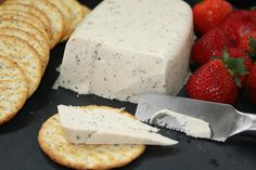 Horseradish Dill Vegan Cheese