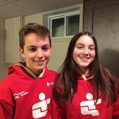 #HalteroMom s'en va au Jeux du Québec   #Halterophilie Claudie et Simon Vaillancourt   À Suivre en webdiffusion au http://www.jeuxduquebec.com/webdiffusion/