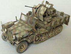 plastic model Sd Kfz 10/4 Dragon 1/35 by Artur