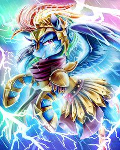 Rainbow Dash is fierce! Warrior Dash by JaDeDJynX.deviantart.com on @DeviantArt