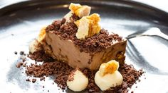 Reynold Poernomo's Chocolate Mousse with Honeycomb & Passionfruit