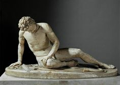 The Dying Gaul Capitoline Museum, Rome. One of my favorite sculptures.