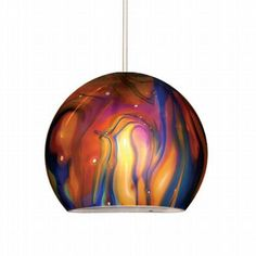 This is my favorite pendant light, but I'm not sure it works anywhere