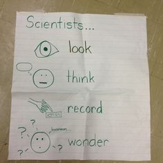 What Scientists Do for Kindergarten Science