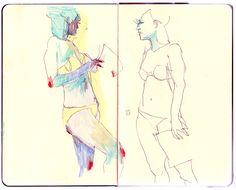 Conrad Roset//Life Drawing
