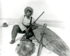 Iñupiat hunter.