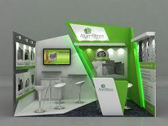 Stand Alumfiltros 2014 on Behance