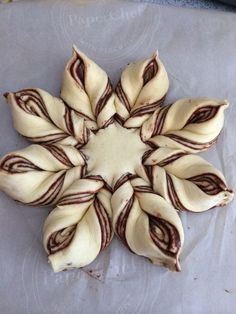 Braided Nutella Star Bread. {so pretty! So easy!!}