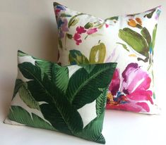 One Chic Fuchsia Large Floral Decorative Throw Zipper Pillow Cover white hot Pink Gold Accent Cushion cover Decorative Pillow Covers, Throw Pillow Covers, Decorative Throw Pillows, Pink Pillows, Floral Pillows, Flower Pillow, Handmade Pillows, Pink And Gold, Cushions