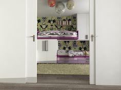 Návrh detskej izby CU-Interiors - Ideas of children room Kids Room, Entryway, Interiors, Architecture, Children, Furniture, Ideas, Design, Home Decor