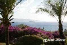 View from Gannon's Wailea! Maui wedding