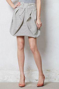 striped skirt #anthropologie