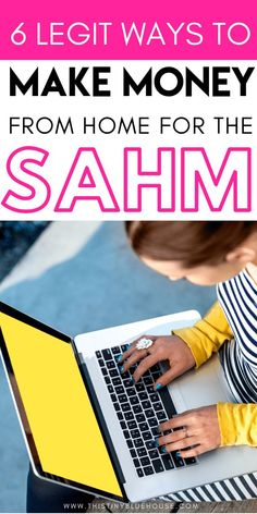 Are you a stay at home mom looking to make money from home? Here are 8 legitimate work at home jobs for moms that allow you to make money from home and stay home with your kids. Project Finance, Ways To Save Money, Money Saving Tips, How To Make Money, Money Tips, Work From Home Opportunities, Work From Home Jobs, Business Opportunities, Earn Money From Home