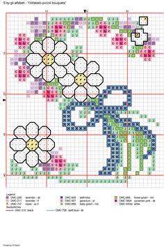Alfabeto piccoli bouquets: S