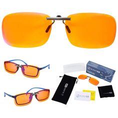 99.9% Clip On Blue Light Glasses