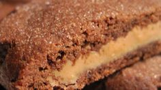 Recipe: Chocolate cookie with a surprise peanut butter center.