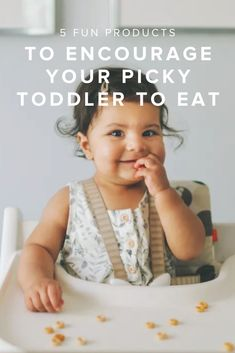 Ever feel like the only food your child wants to eat is bread (or some other carb)? The dinner battle can feel relentless; some days mama wins and they unknowingly eat a few peas, and then there are those other days where all the vegetables and fruit go untouched (or get flung onto the floor). Turning a picky eater into an adventurous one is a journey, but if you foster a positive environment of independent eating, you can help their taste buds flourish without feeling like an on-demand… Mom Hacks, Your Child, The Fosters, Encouragement, Positivity, Feelings, Eat, Children, Young Children