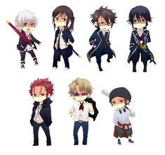 Image result for k project chibi
