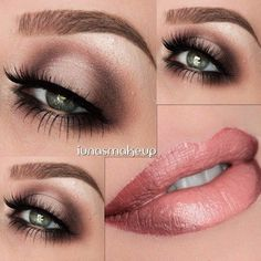 Makeup Look Tutorial Smokey Eye with Grey, Blue and Black
