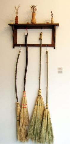 Handmade Kitchen Broom Southern Appalachian by MeredithBridges, $55.00