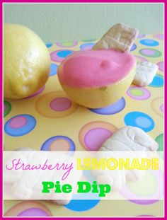 Strawberry Lemonade Pie Dip - Farmer's Wife Rambles