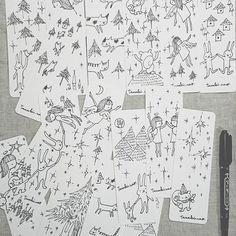 【nikka.pokka.70】さんのInstagramをピンしています。 《「マッキーで描く」  #illustration #イラストレーション #マッキー #zebra #油性ペン #しおり #たまきなおイラストレーション #たまきなお #田槙奈緒 #tamakinao #三重県総合文化センター #hanselundGretel #hanselandGretel #たまきなおヘンゼルとグレーテル #アートショップMikke #bookmark  #手描き #天使 #angel  #猫 #cat #りす #うさぎ #森 #forest》