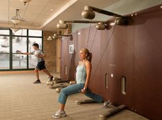 Allegria Spa at Park Hyatt Beaver Creek, CO Kineses Studio. Check out our Fitness facility!