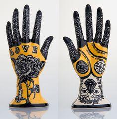 hand made. Plaster Sculpture, Hand Sculpture, Pottery Sculpture, Plaster Hands, Diy Plaster, Biscuit, Show Of Hands, Human Art, Naive Art