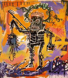 "Jean-Michel Basquiat - Underground Painting - Neo Expressionism - ""Untitled"" - 1981"