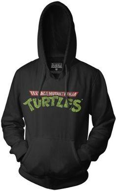 Teenage Mutant Ninja Turtles Logo Hoodie Sweatshirt: Amazon.com: Clothing